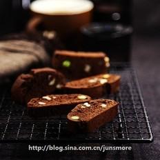 巧克力坚果脆饼