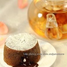 熔岩巧克力蛋糕