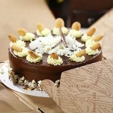 大杏仁巧克力蛋糕