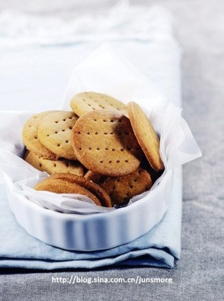 消化饼干的做法
