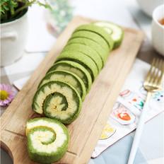 【卷出绿色好心情】抹茶旋风蛋糕卷