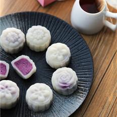 【人月兩團圓】紫薯冰皮月餅