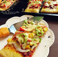 方形大披萨