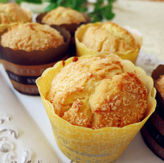 椰蓉马芬蛋糕