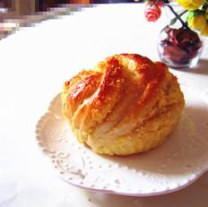 椰蓉面包卷