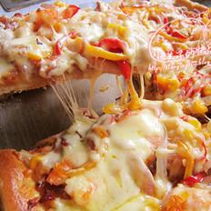 海鲜方形大披萨