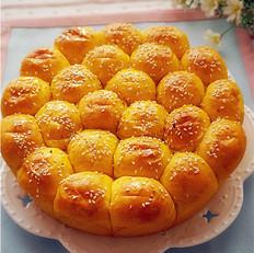 萌萌的南瓜小面包
