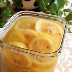 正确制作蜂蜜柠檬茶