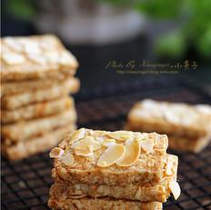 燕麦杏仁酥饼