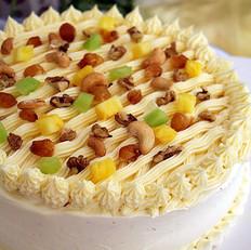蔬果芝士奶油霜蛋糕