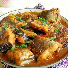 红烧海鳗鱼