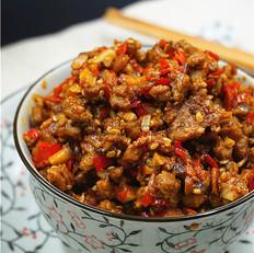 香菇牛肉拌饭酱