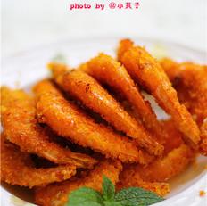 煎烤大海虾