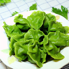 翡翠芹菜水饺