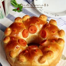 挤挤小猪面包