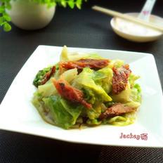 豆豉鲮鱼炒西生菜