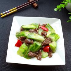 丝瓜炒牛肉