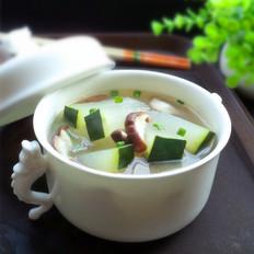 鲜香菇冬瓜汤