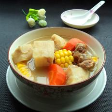 粉葛绿豆骨头汤