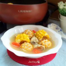 玉米鲜鲍炖鸡汤