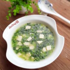 春菜豆腐羹