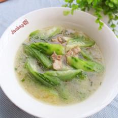胜瓜肉片汤