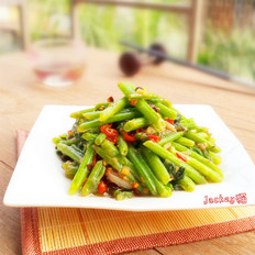 豆豉剁椒炒瓜远