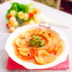 番茄白贝汤