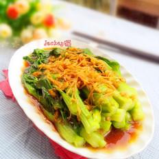 白灼小棠菜
