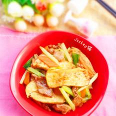 芹香油豆腐