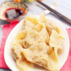 香葱荸荠鲜肉饺