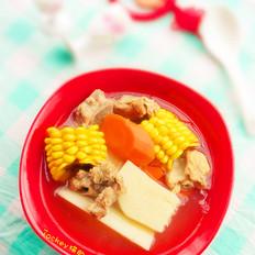 粟米大薯骨头汤
