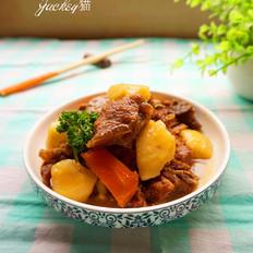 羊肉焖土豆