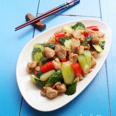 黄瓜炒鸡肉