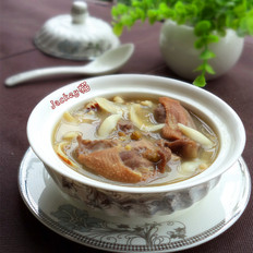 鸽子绿豆汤