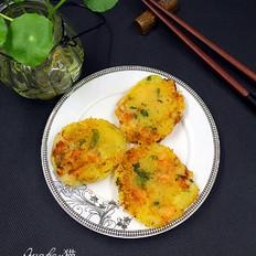 鲜虾土豆饼
