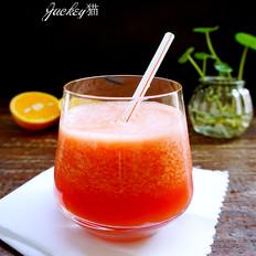 西瓜柳橙汁