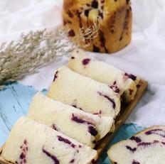 面包机版紫薯辫子面包