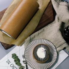 黑米戚风蛋糕卷
