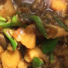东北茄子炖土豆