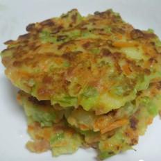 早餐土豆火腿胡萝卜饼