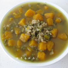 南瓜绿豆汤的做法大全