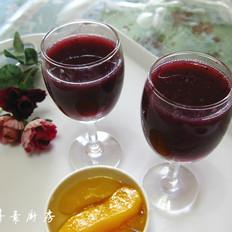 鲜榨葡萄汁