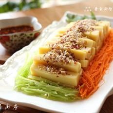 云南特色小吃豌豆凉粉