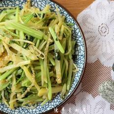 干炒芹菜土豆