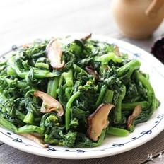 焯水油菜花