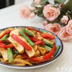 芦笋姜黄豆腐