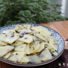 土豆橄榄菜