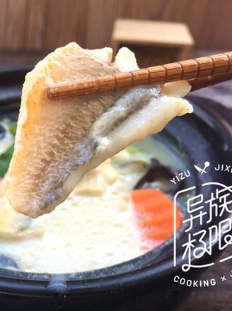 豆浆黄鱼汤的做法