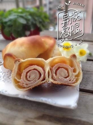 芝士培根面包的做法
